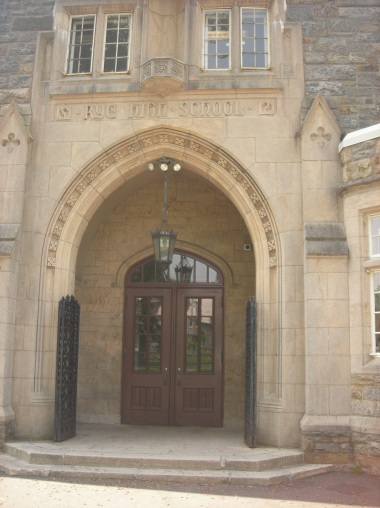 Doorway of Rye High School