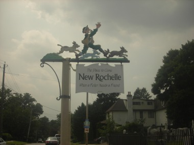 Leaving New Rochelle on the King's Highway